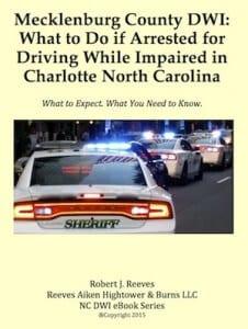 Charlotte DWI Attorney E-book